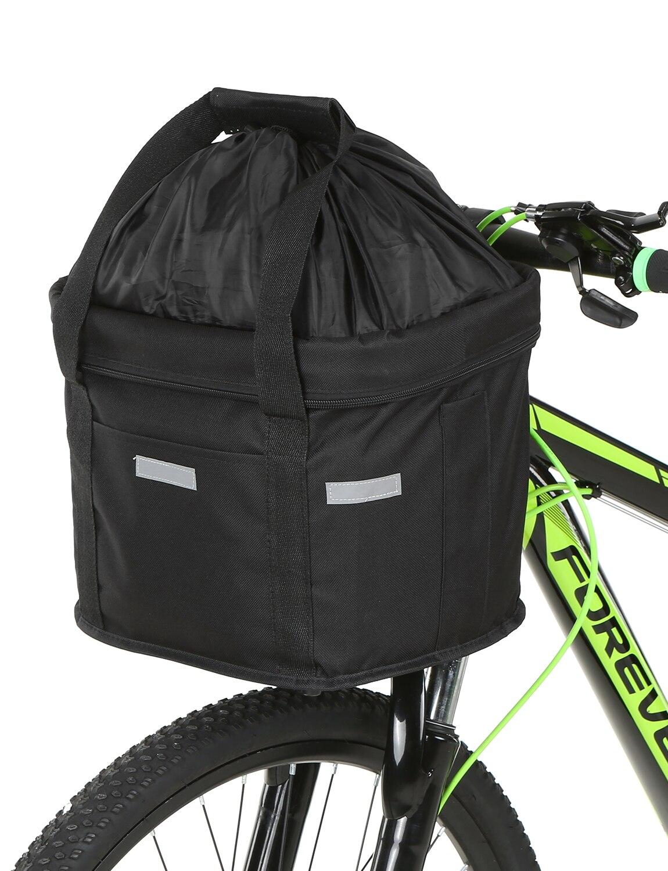 Передняя корзина для велосипеда, съемная Водонепроницаемая корзина для руля велосипеда, сумка переноска для домашних животных, велосипедный передний багаж|Сумки и корзины для велосипеда|   | АлиЭкспресс