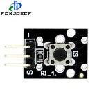 10PCS KY-004 3pin Button Key Switch Sensor Module for Arduino Diy Starter Kit 6*6*5mm 6x6x5mm KY004
