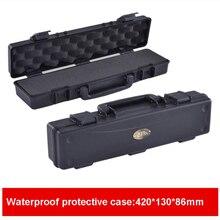 Высококачественный водонепроницаемый защитный ящик для инструментов чемодан ударопрочный герметичный ящик для хранения с предварительно вырезанной пеной