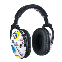 Graffiti Safety Earmuffs for Toddlers Kid Children Teens Ear Protection with NRR 25dB Noise Reduction