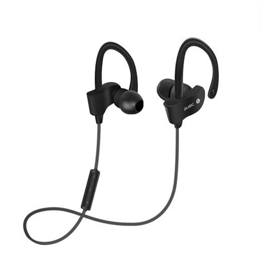 CUJMH 56S Sports In-Ear Wireless Bluetooth Earphone Stereo Earbuds Headset Bass Earphones with Mic for Samsung Phone Sweatproof