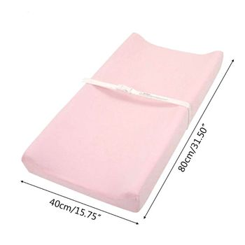 Soft Cotton Baby Changing Mat Reusable Changing Table Pad Cover For Boys Girls