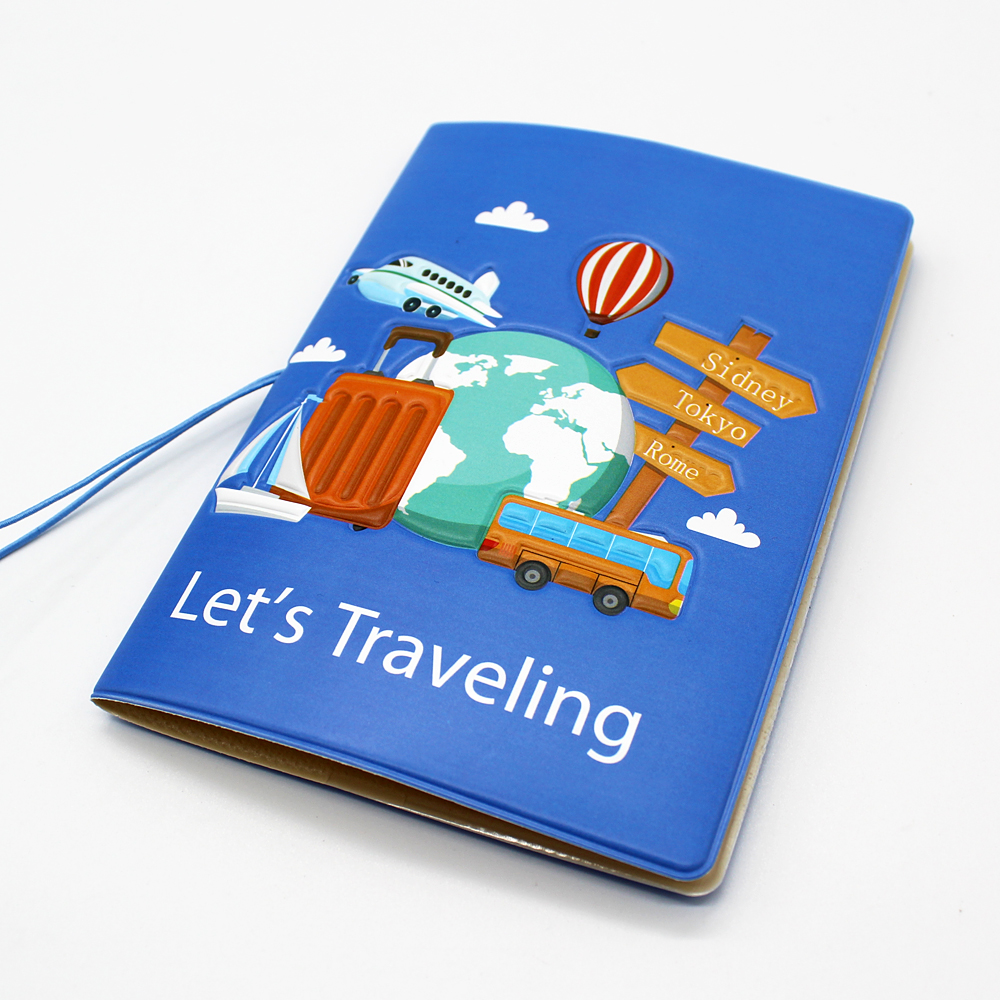 Travel Accessories Prevent Lost Passport Holder Fashion Soft Leather Travel Passport Cover Credit Card ID Ticket Holders Case
