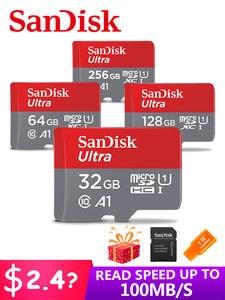 Sandisk Memory-Card Flash-Card Microsd 128GB Class10 256GB 200GB 32GB 64GB 98mb/S UHS-1