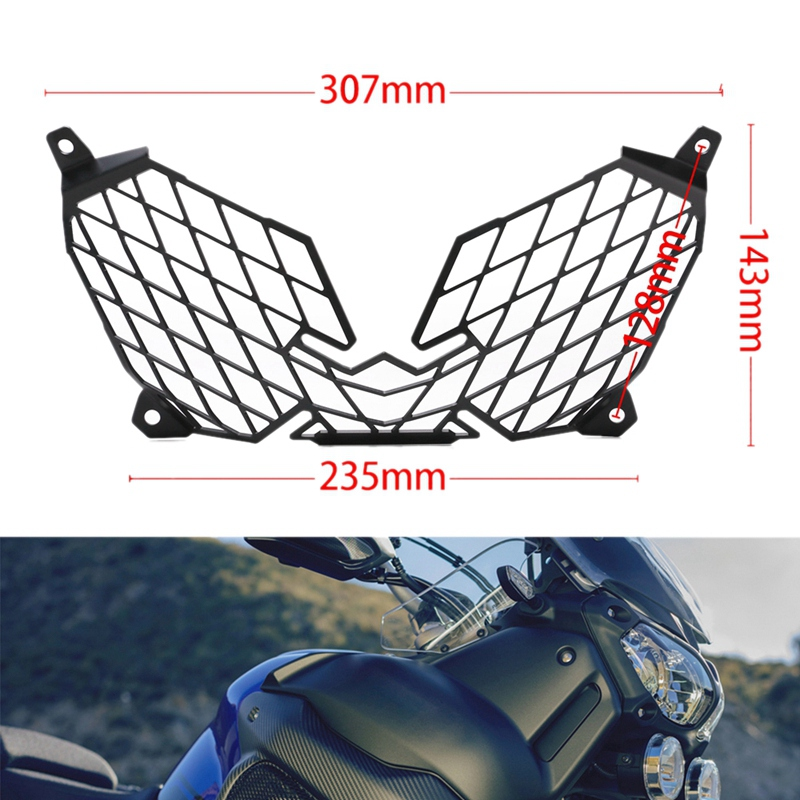 for YAMAHA XT1200Z XT 1200 Z Super Tenere 2010-2018 Motorcycle Modification Headlight Grille Guard Cover Protector 5