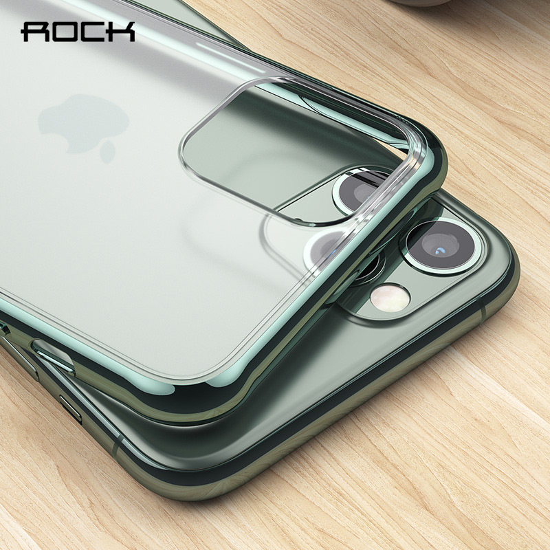 Rock matte phone case for iphone 11 pro max transparent cases for iphone 6 6s 7 8 plus x xs max xr clear soft cover capa fundas