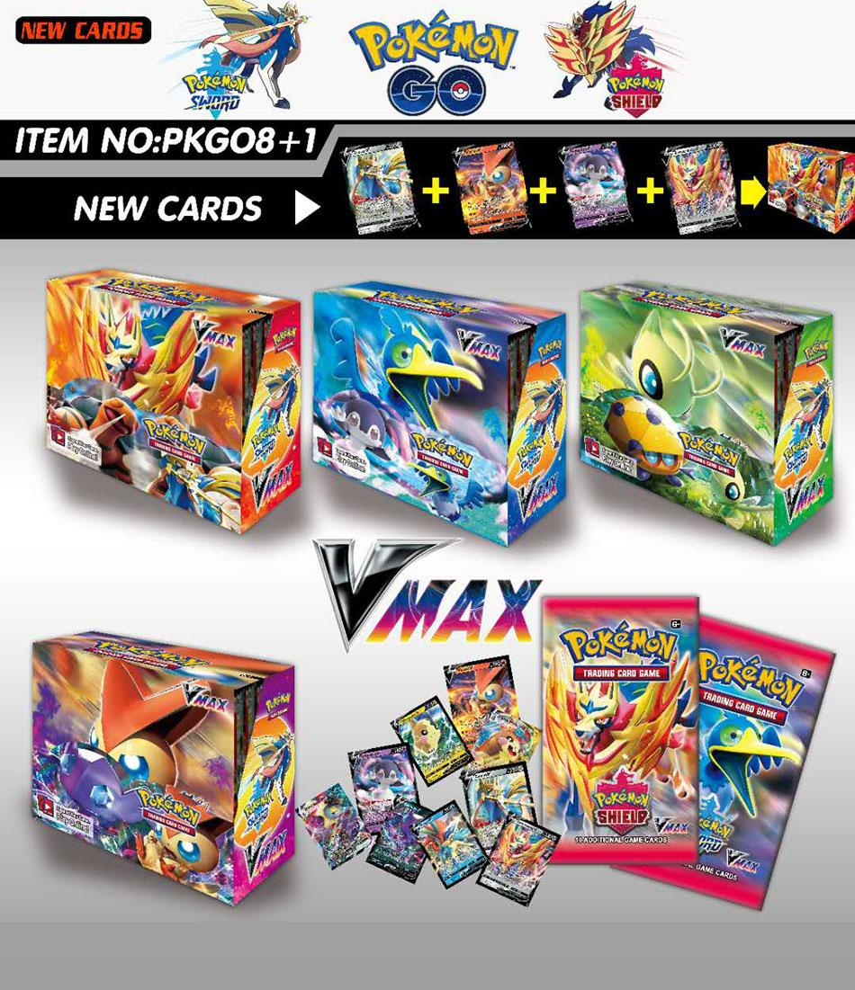 New 324pcs Pokemon Cards Sun & Moon XY Evolutions Booster Box  Collectible Trading Cards Game