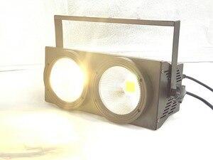 Image 5 - NEW 2eyes 2x100w LED Warm White 3200K 200W Led Audience light DMX LED COB 200W Led Strobe dj light wash beam stage effects