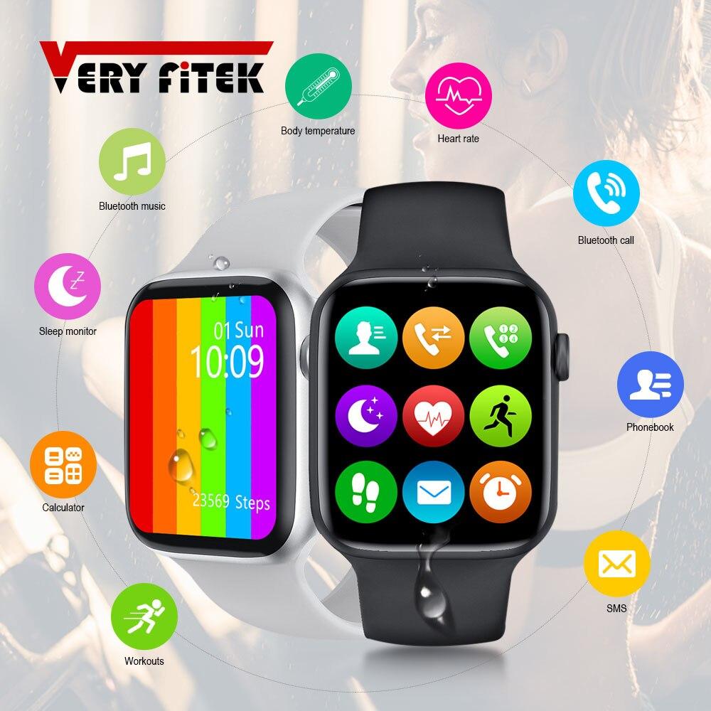 IWO W26 SmartWatch 1 75inch Infinite Screen 44mm Watch 6 Series Smart Watch Bluetooth Call ECG Temperature Smart Watch PK IWO 12