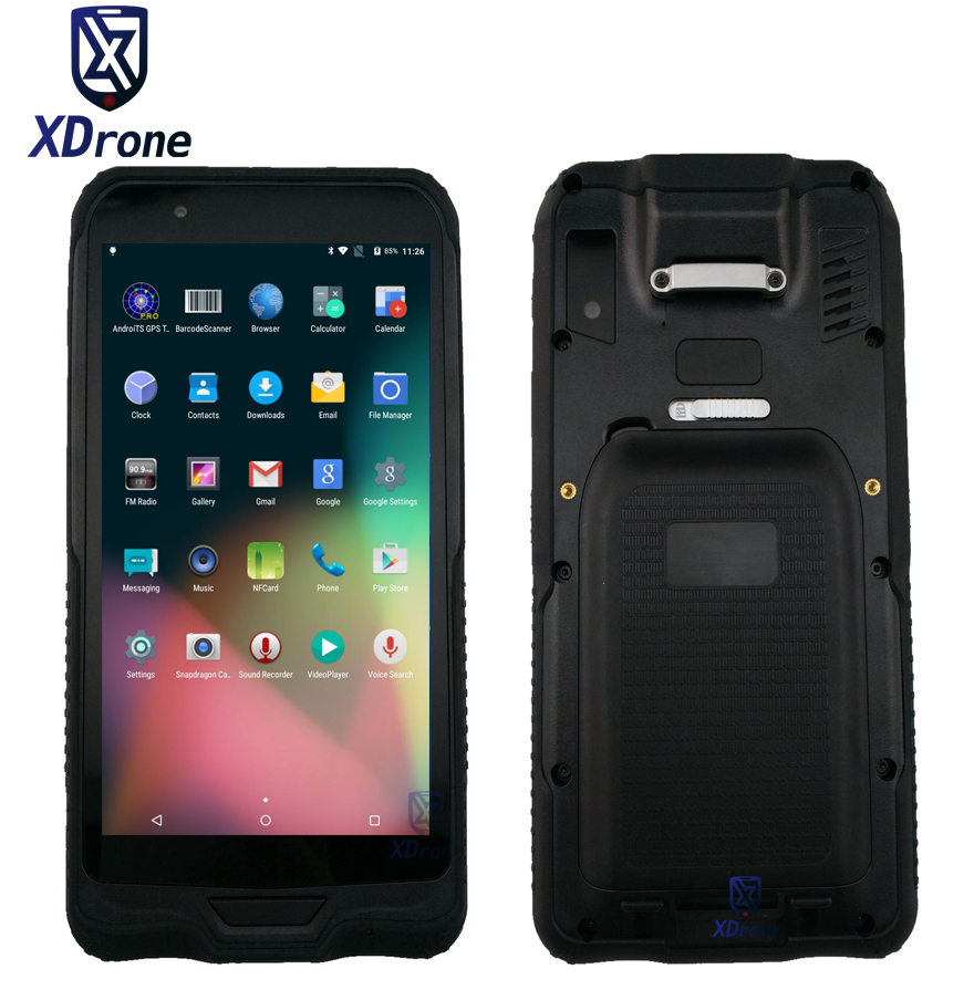 Clearance Sale Qualcomm Rugged Tablet Mini PC 6 Inch PDA  2D Laser Barcode Scanner Android Data Collector 4G Phablet NFC Kids