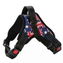 Pet Dog Harness K9 Dog Harness Small Large Dog Corgi Golden Retriever Neck Ring Dog Chain Hand Holding Rope