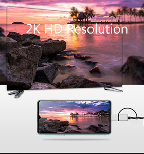Image 4 - 2K Bluetooth Audio Type C Micro USB HDMI Cable HDTV Adapter For Huawei Mate 20 P9 Samsung S10 S9 S8 Note 8 9 Android Phone to TV