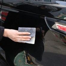 Dissolvant de réparation de rayures de voiture, effaceur de rayures de voiture, magique Nano tissu, réparation des éraflures de Surface, fournitures de polissage de voiture