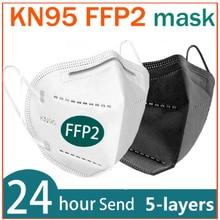 FFP2 Mascarillas masque KN95 5 couches masque facial KN95 respirateur adulte masque protecteur KN95 masques avec filtre rose ffp2masque