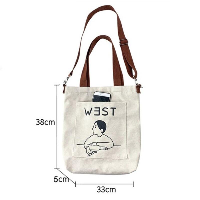 saco de escola feminino mensageiro saco de compras