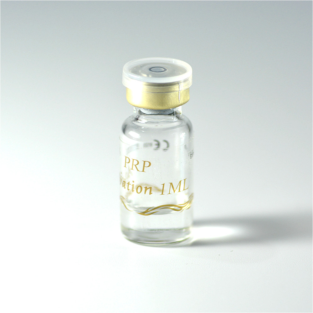 Beauty PRP Activating Liquid Serum Activators For PRP Calcium Chloride Solution 1ml / Vial Sterile Non-toxic Sub-installed