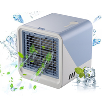 Hot Sale New 2019 Air Cooler Small Air Conditioning Appliances Mini Air Cooling Fan Summer Portable Conditioner for home office