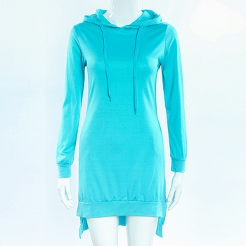 European and American style mid-length hoodie 2020 women's pullover long-sleeved fleece hoodie 10