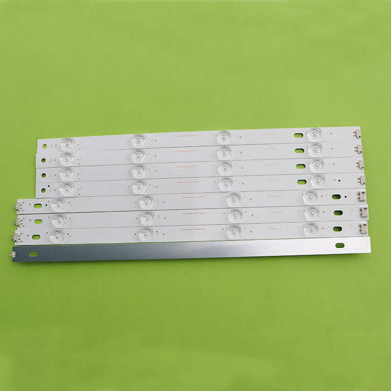 New Kit 8pcs LED Strip Replacement For LG LC420DUE 42LF652 42LB5500 INNOTEK DRT 3.0 42 Inch A B 6916L-1710A 6916L-1709A