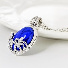 Big Sun Protection Stone Necklace Theme Jewelry Vampire Diaries The Vampire Diaries Movie Catherine Blue Color Cool Pendant