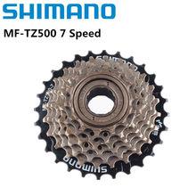 Shimano bicicletas freewheel, MF-TZ500/tz21 7 velocidade cassete roda livre 14-28t para mtb estrada ciclismo bicicleta atualização de tz21