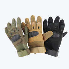 Military tactical gloves outdoor sports riding guard anti-cut waterproof air breathable mountaineering anti-slip