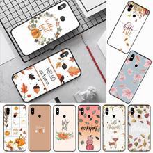Pumpkin Happy Autumn pattern Customer Phone Case For