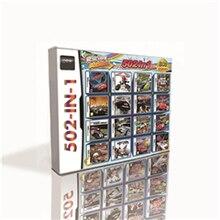 خرطوشة ألعاب رائعة 502 في 1 لوحدة تحكم ألعاب DS 2DS 3DS عالية الجودة