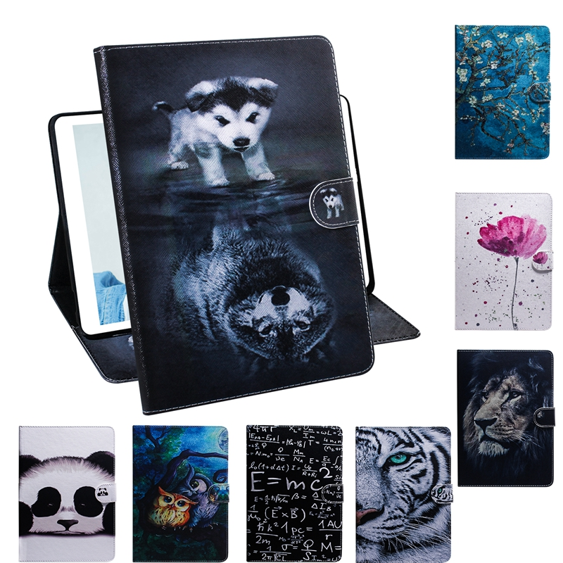 For Coque Samsung Galaxy Tab A 8.0 2019 T290 T295 Tablet Case Flip PU Leather Cover For
