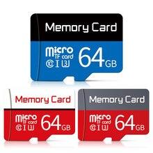 Adaptador livre do sd do cartão de memória da movimentação do flash dos cartões do microsd 16gb 32 gb 32 gb 64gb 128gb