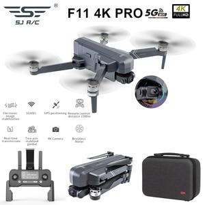 Image 2 - SJRC F11 4K PRO drone mit 2 achsen gimbal stabilisator kamera F11/F11 PRO GPS Drone 5G Wifi 1080P/2K Cam Quadcopter Vs SG906 Eders