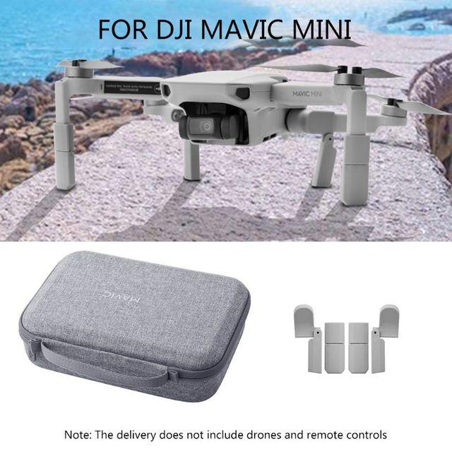 Портативный чехол для переноски, сумка для хранения, расширенное шасси, поддержка ножек, защитные удлинители для DJI Mavic, аксессуары для мини дрона