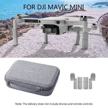 Portable Carrying Case Storage Bag Extended Landing Gear Leg Support Protector Extensions for DJI Mavic Mini Drone Accessories