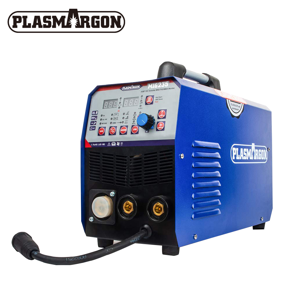 3 IN 1 Plasma Welder TIG / MMA / MIG Plasma Welding Machine Multi-Function Welding DC Inverter 110/220V Semi-automatic Welding