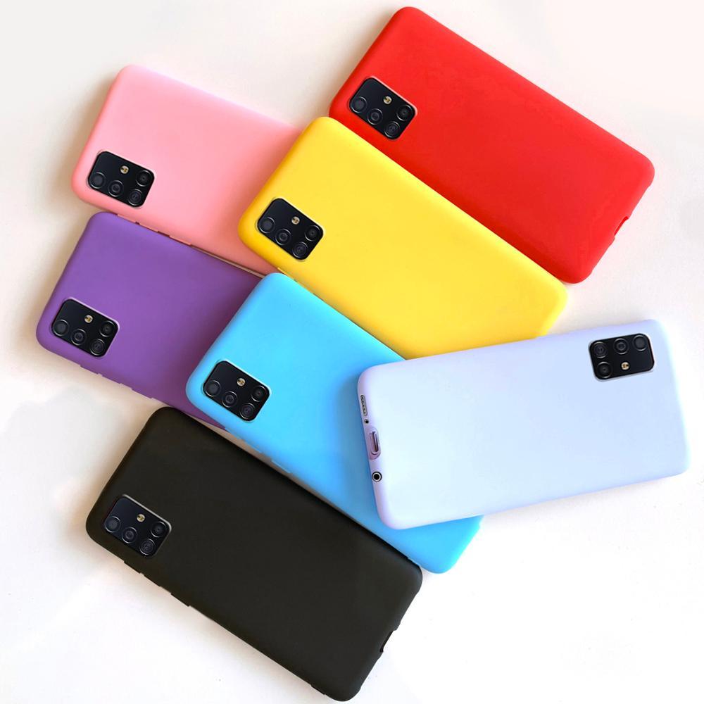 Силиконовый чехол для Samsung Galaxy A51, мягкий чехол-накладка для Samsung Galaxy A51, чехлы для Samsung A51 A 51, чехлы для телефонов