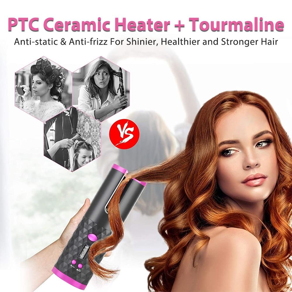 curling ferro ondas cabelo modelador ar