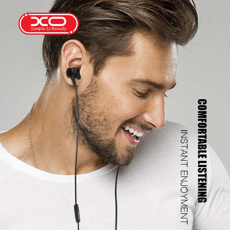 XO S25  In-ear Wired Earbuds Universal 3.5mm Earphone Quality Music Earpiece Stereo Headset For Samsung Xiaomi Phone Computer