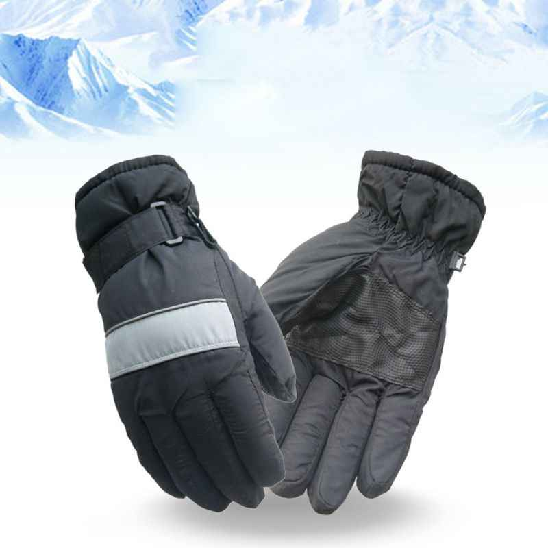 Kid Ski Gloves Winter Warm Waterproof Windproof Snow Snowboard Ski Sports Gloves for Cycling,Biking,Hiking,Skiing