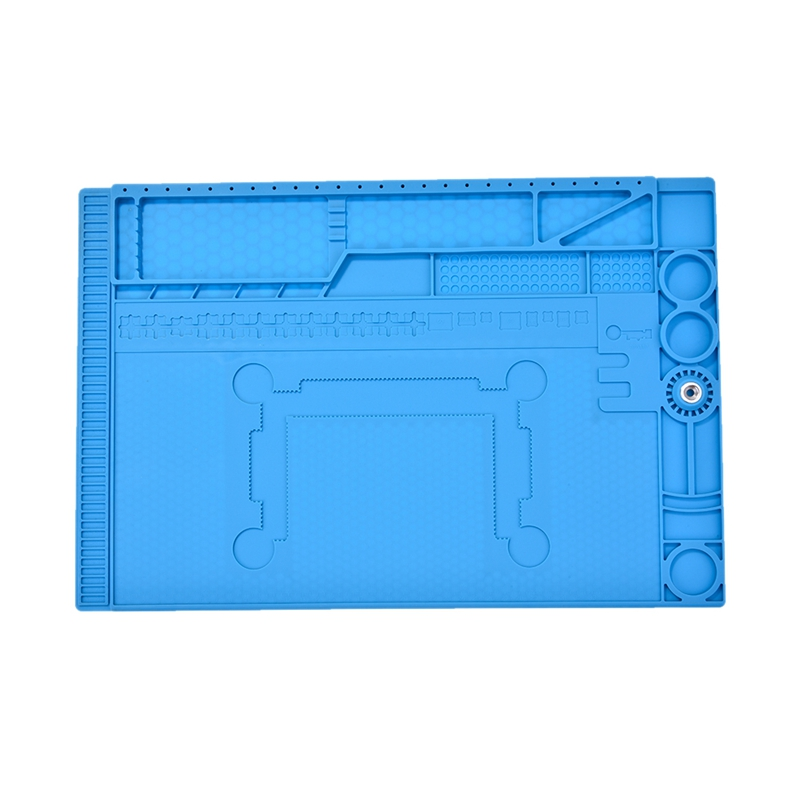 30x45Cm Heat-Resistant Bga Soldering Station Anti Static Silicone Repair Insulation Pad Maintenance Platform Desk Mat