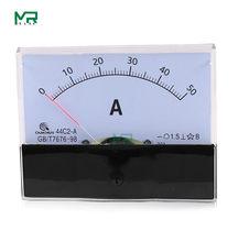 44C2 DC amperemeter analog panel pointer amperemeter DC 1A 3A 5A 10A 15A 20A 30A 50A 75A 100A 150A 300A 450A 500A