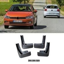 Для Защитные чехлы для сидений, сшитые специально для Volkswagen POLO GTI 6c mk6 MK7- брызговики брызговик крыло брызговиков переднее заднее крыло автомобиля аксессуары