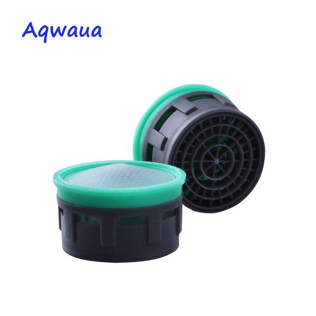 Aqwaua aérateur de robinet économiseur deau | 6L/Min 24MM/22MM, bec écologique, accessoire de filtre pour grue