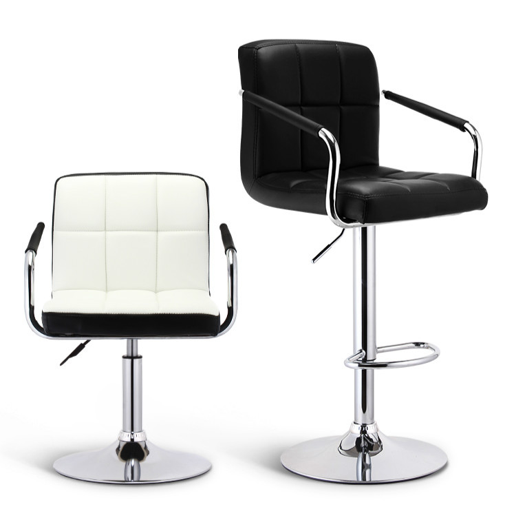 Bar Chairs Modern Minimalist High Back Lift Bar Chair Bar High Stool Tabouret De Bar Banqueta Cadeira Chaise Disc Foot