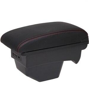 Для 2011 Citroen C4 подлокотник коробка Универсальная автомобильная центральная консоль caja Модификация аксессуары с USB без сборки