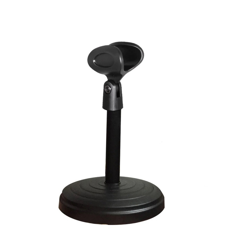 Desktop Wired Microphone Wireless Microphone Disc Bracket Microphone Karaoke Microphone ABS Bracket|Mic Stand| |  - title=