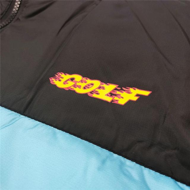 New luxury Men golf Flower Le Fleur Tyler The Creator Blue flame Coats & Jackets / Down Coats Cotton warm Winter #M38 6