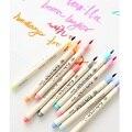 Набор мягких цветных маркеров с кисточкой для рисования, 10 шт.