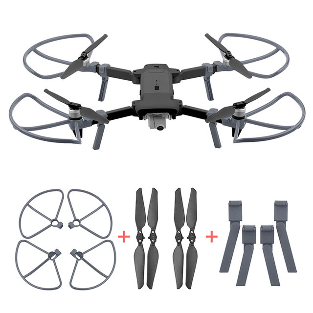 2pairs Foldable CW CCW Propellers for FIMI X8 SE 2020 Propeller Guard Landing Gear Support Heighten Leg Drone Accessories