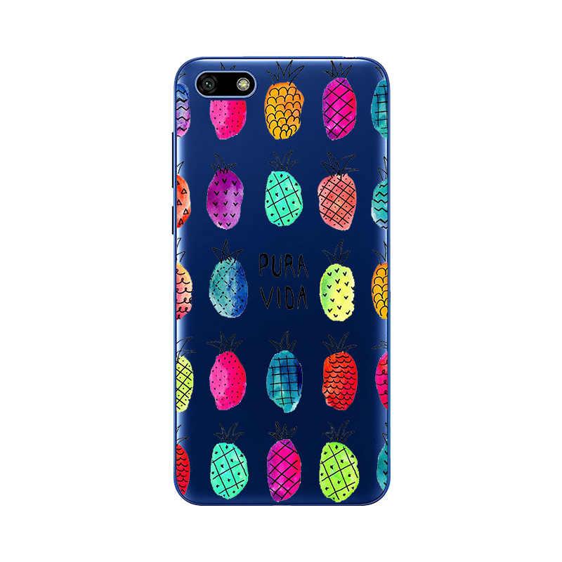 Yumuşak silikon kılıf için Huawei Y5 2018 kılıf kapak boya TPU telefon kılıfı Huawei Y 5 Y5 Lite 2018 DRA-LX5 DRA-LX2 fundas coque