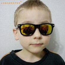 Longkeeper cool От 6 до 15 лет детские солнцезащитные очки Детские
